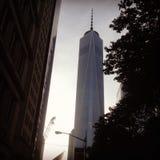 Башня NYC свободы стоковое изображение
