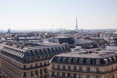 башня paris панорамы eiffel Стоковая Фотография RF