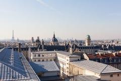 башня paris панорамы eiffel Стоковое Изображение RF