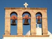 башня patmos колокола Стоковые Фото