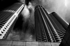 башня petronas Стоковые Изображения