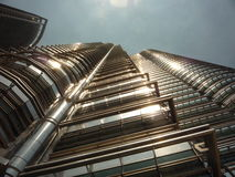 башня petronas Стоковое Изображение