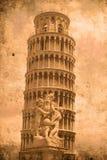 башня pisa Стоковое Изображение RF