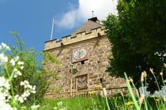 Башня Pliensauturm в городе Esslingen am Неккаре Стоковая Фотография RF