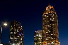 башня rembrandt ночи Стоковые Изображения