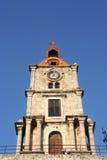 башня rhodes церков Стоковые Фотографии RF