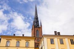 Башня Riddarholmskyrkan Стоковые Изображения RF