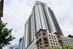 башня riverbank городского управления зданий стоковая фотография rf