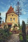 Башня ` Ropemakers, цитадель Sighisoara, Румыния стоковые изображения