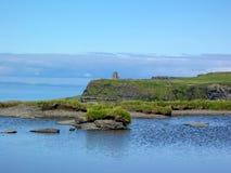 Башня ` s Brien ` o в скалах Moher, графства Клары, Ирландии стоковые фотографии rf