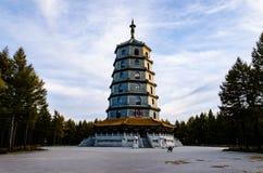 Башня Saihan в провинции Хэбэя, Китае стоковые фотографии rf