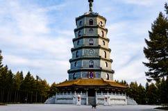 Башня Saihan в провинции Хэбэя, Китае Стоковые Изображения