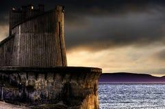 башня saltcoats гавани Стоковое фото RF