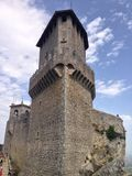 башня san marino Стоковое Изображение