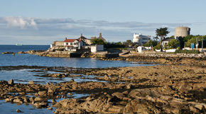 башня sandycove james joyce пляжа Стоковое Изображение