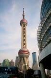 башня shanghai перлы Стоковая Фотография RF