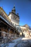 башня sighisoara Стоковые Фотографии RF