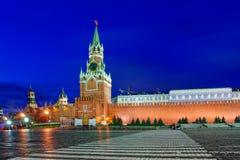 Башня Spasskaya Кремль Стоковые Фотографии RF