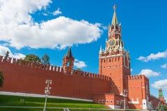 Башня Spasskaya Кремля в Москве Стоковое Изображение RF