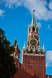 Башня Spasskaya Москва Кремль Стоковое фото RF