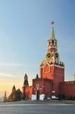 Башня Spasskaya Москвы Кремля Стоковые Фото