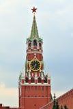 Башня Spasskaya Москвы Кремля moscow Россия Стоковое Фото