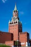 Башня Spasskaya Стоковые Изображения RF