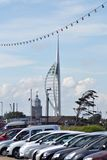 башня spinnaker portsmouth Стоковая Фотография