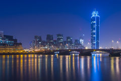 Башня St. George, Лондон, Великобритания Стоковое фото RF
