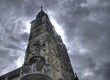 башня st lorenz nuremberg фонтана Стоковые Изображения RF