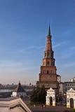 Башня Suumbike в Казани Кремле kazan Россия Стоковое Изображение RF