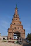 Башня Suumbike в Казани Кремле kazan Россия Стоковая Фотография RF