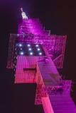 Башня Telemax радиосвязи в Ганновере Стоковое фото RF