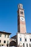 башня torre lamberti dei Стоковые Фото