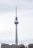 башня tv berlin Стоковые Фотографии RF