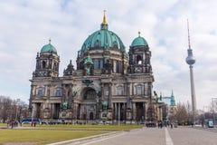башня tv dom berlin Стоковые Изображения
