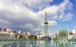 башня tv nagoya стоковые фотографии rf