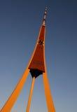 башня tv riga радио Стоковое Фото