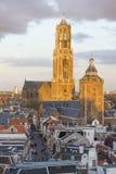 Башня Utrecht Dom, Нидерланды Стоковое Фото
