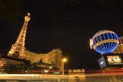 башня vegas воспроизводства las eiffel стоковые фото