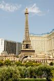 башня vegas paris las eiffel стоковая фотография rf