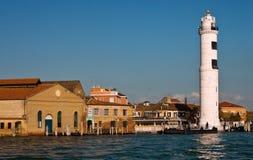 башня venice murano маяка острова Стоковое Фото