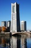 башня yokohama наземного ориентира Стоковые Изображения