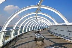 башня yokohama символа моста гаван Стоковое Изображение