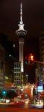 башня zealand неба auckland новая Стоковые Изображения