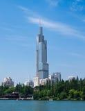 Башня Zifeng Стоковые Фотографии RF