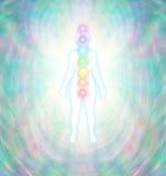 Балансировать энергии Chakra иллюстрация штока