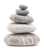 Балансируя камни камушка Стоковое Фото