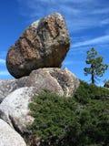 Балансируя утес, Yosemite Стоковые Изображения