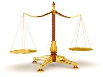 Баланс правосудия (включенный путь клиппирования) Иллюстрация штока